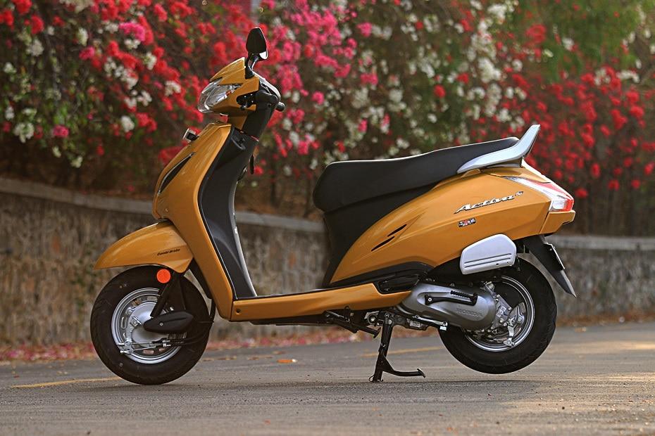 Honda Activa 5G Left Side View