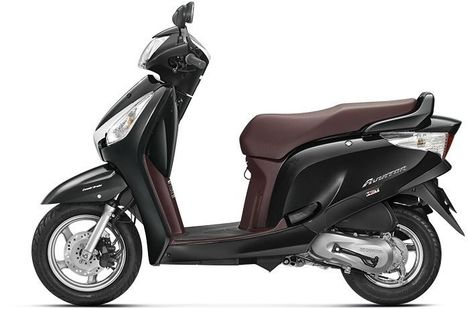 Honda Aviator Pearl Igneous Black