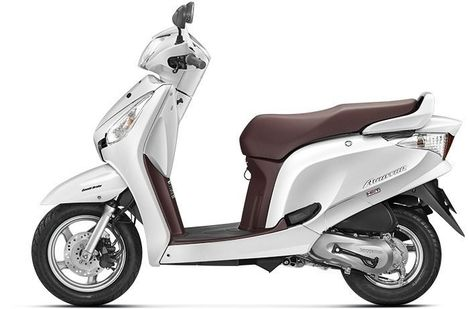 Honda Aviator Pearl sunbeam white