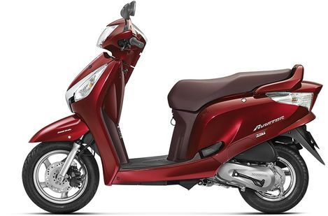 Honda Aviator Rebel Red Metallic