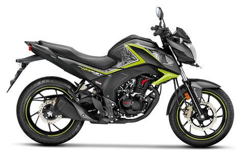Honda CB Hornet 160R Striking Green
