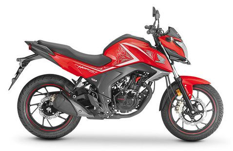 Honda CB Hornet 160R Sports Red