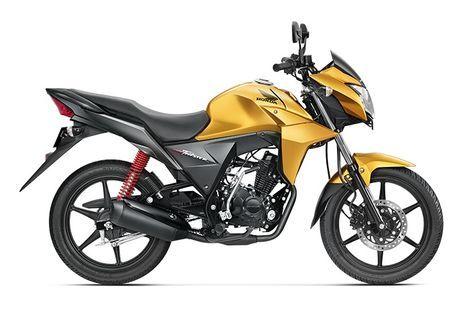 Honda CB Twister Electric Yellow Metallic
