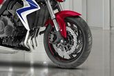 CB1000R Front Tyre View
