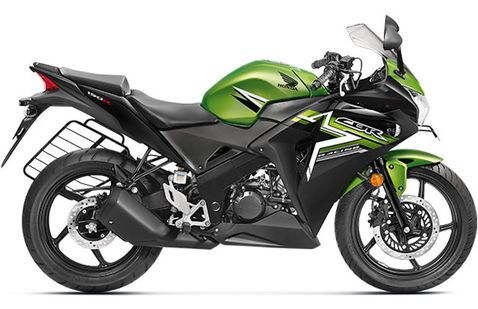 Honda CBR 150 R Candy palm green