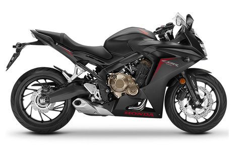 Honda CBR650F Matte Gun Powder Black Metallic