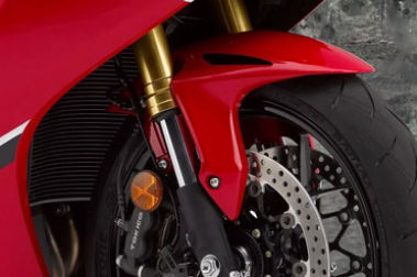 Honda CBR1000RR Front Mudguard & Suspension