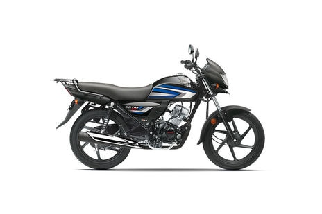 Honda CD 110 Dream Black with Blue Metallic
