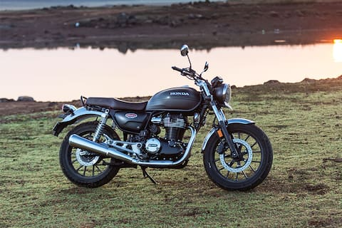 Honda Hness CB350 Right Side View