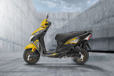 Honda Dio Left Side View