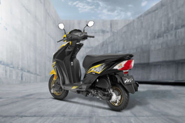Honda Dio Rear Left View