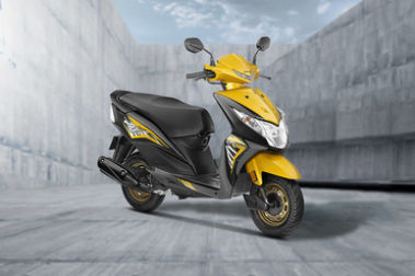 Honda Dio Front Right View