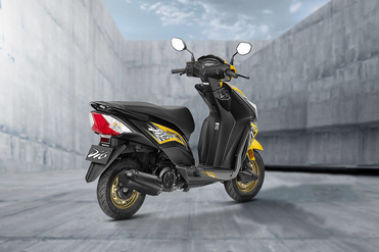 Honda Dio Rear Right View