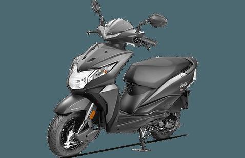 Honda Dio Front Gray
