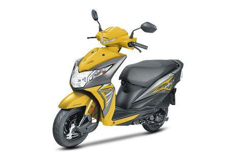 Honda Dio Yellow