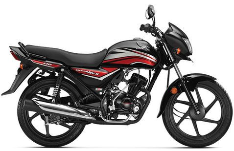 Honda Dream Neo Black with Red Stripes