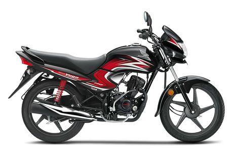 Honda Dream Yuga Black with Red Graphics
