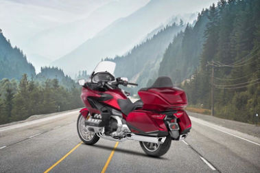 Honda Gold Wing Rear Left View