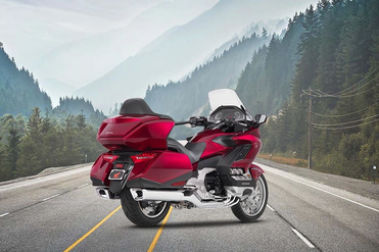 Honda Gold Wing Rear Right View