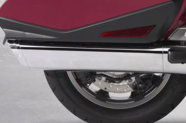 Honda Gold Wing Exhaust View
