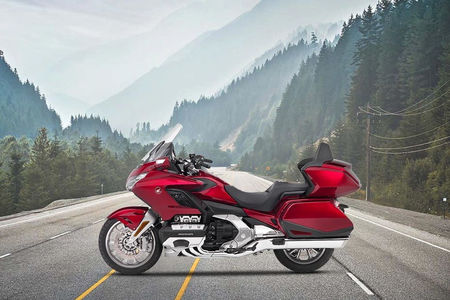 Honda Gold Wing Left Side View
