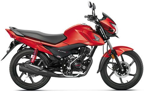 Honda Livo Red metallic