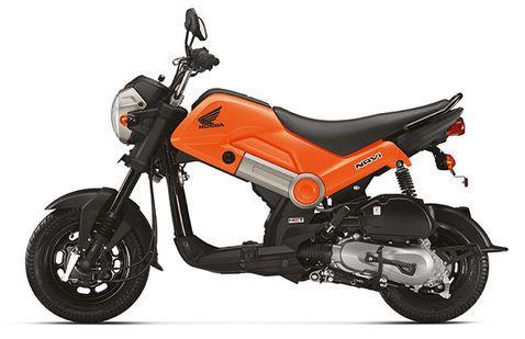 Honda Navi Orange