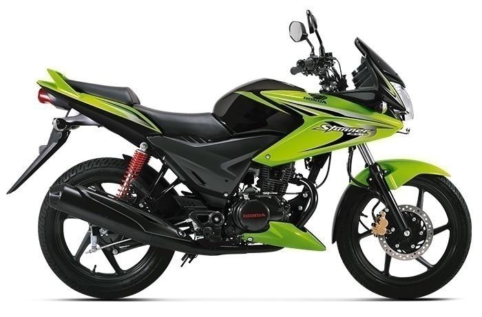 Honda CBF Stunner Loan candy palm green model