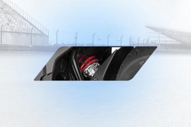 Honda Hornet 2.0 Rear Suspension View
