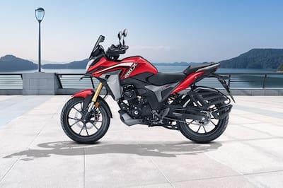 Honda CB200X Left Side View
