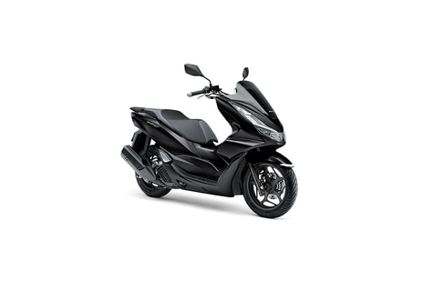 Honda PCX160 Poseidon Black Metallic