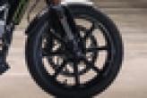 Husqvarna Svartpilen 250 Front Tyre View