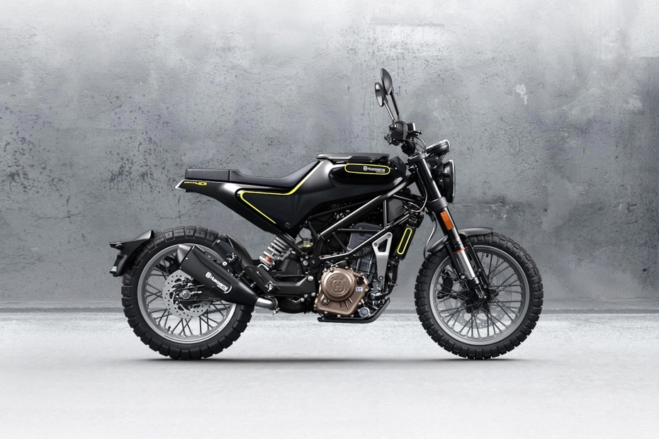 Husqvarna Svartpilen Right Side View