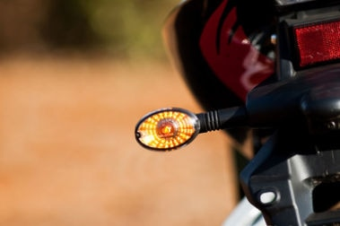 Hyosung GT250R Rear Indicator View