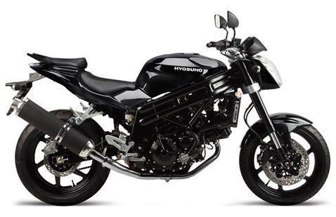 Hyosung GT250R black