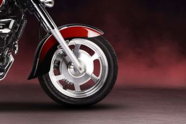 Hyosung Aquila 250 Front Tyre View