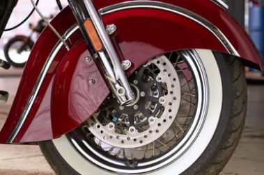 Indian Chief Classic Front Tyre View