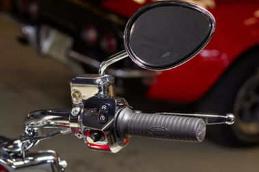 Indian Chief Classic Back View Mirror