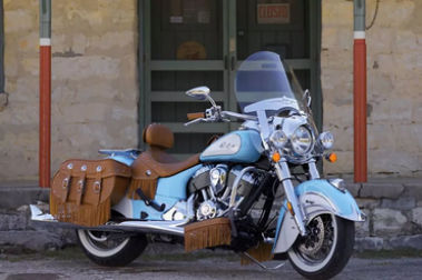 Indian Chief Vintage Front Right View