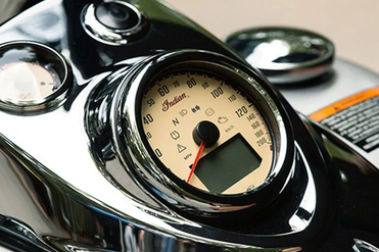 Indian Chief Vintage Speedometer