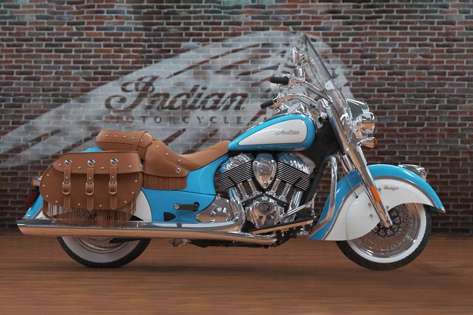 Indian Chief Vintage Right Side View