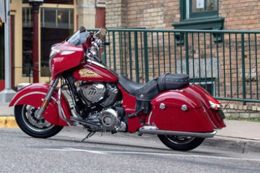 Indian Chieftain Classic Rear Left View