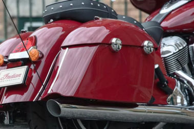 Indian Chieftain Classic Exhaust View
