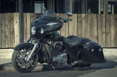 Indian Chieftain Limited Front Left View