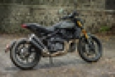 Indian FTR 1200  Rear Right View