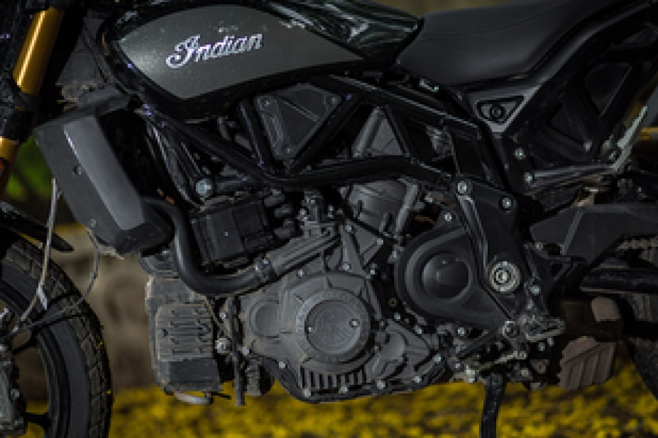 Indian FTR 1200 Engine