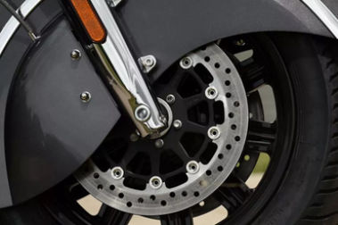 Indian Chief Front Brake View