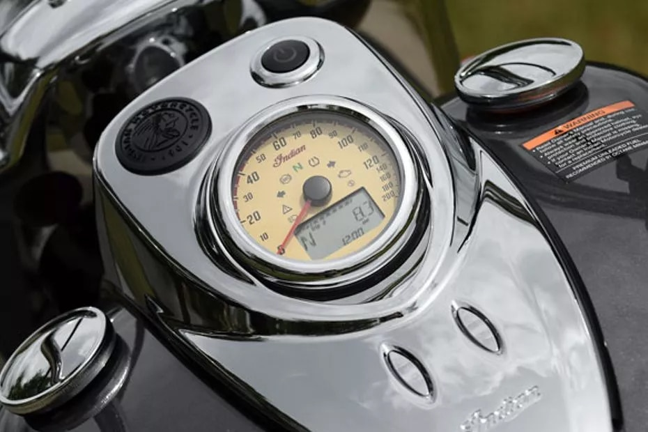 Indian Chief Speedometer