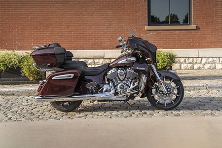 Indian Roadmaster Right Side View