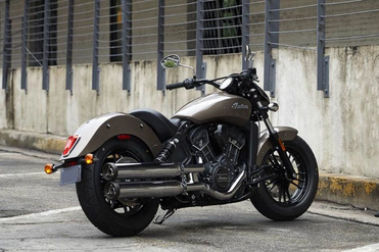 Indian Scout Sixty Rear Right View